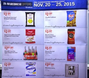 Costco Pre-Thanksgiving Savings Coupon Book: November 20-30, 2015. Page 13