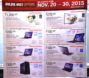 Costco Pre-Thanksgiving Savings Coupon Book: November 20-30, 2015. Page 15