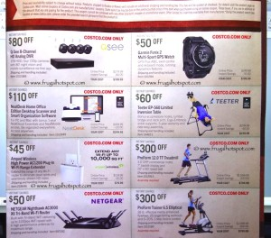 Costco Pre-Thanksgiving Savings Coupon Book: November 20-30, 2015. Page 16
