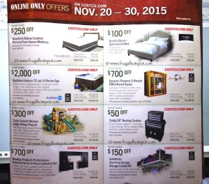 Costco Pre-Thanksgiving Savings Coupon Book: November 20-30, 2015. Page 18