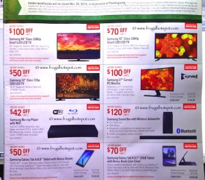 Costco Pre-Thanksgiving Savings Coupon Book: November 20-30, 2015. Page 2