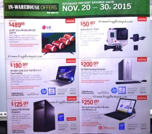 Costco Pre-Thanksgiving Savings Coupon Book: November 20-30, 2015. Page 4