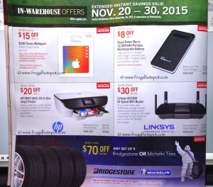 Costco Pre-Thanksgiving Savings Coupon Book: November 20-30, 2015. Page 5