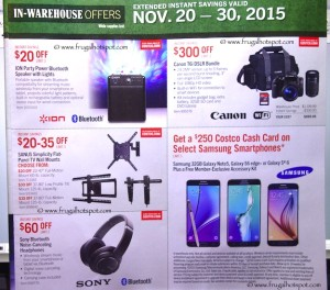 Costco Pre-Thanksgiving Savings Coupon Book: November 20-30, 2015. Page 6