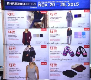 Costco Pre-Thanksgiving Savings Coupon Book: November 20-30, 2015. Page 9