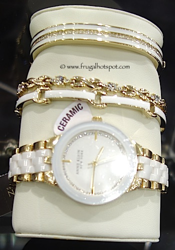 Costco Sale Anne Klein New York Ceramic Watch and Bracelet Set $154 99