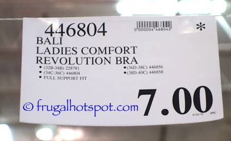 Bali Comfort Revolution Wirefree Bra Costco Price | Frugal Hotspot