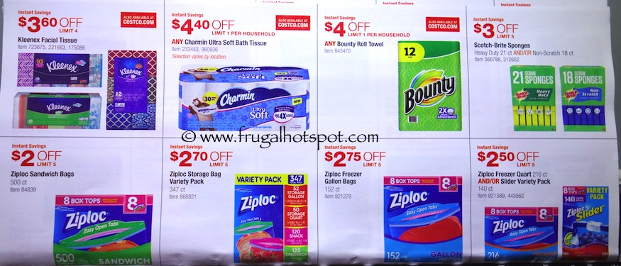 Costco Coupon Book: December 29, 2015 - January 24, 2016. Prices Listed. Frugal Hotspot. Page 12