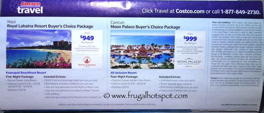 Costco Coupon Book: December 29, 2015 - January 24, 2016. Prices Listed. Frugal Hotspot. Page 21