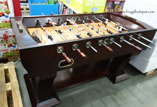 Costco Well Universal Foosball Table Frugal Hotspot - How much does a foosball table cost