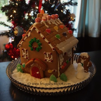 Gingerbread House 2015 Frugal Hotspot