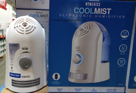 Homedics Cool Mist Ultrasonic Humidifier Costco