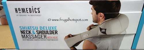 Homedics Shiatsu Deluxe Neck and Shoulder Massager with Heat Costco
