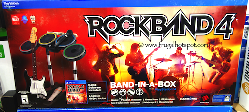 Rock Band 4 Band-in-a-Box Costco