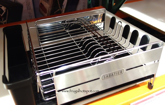 Sabatier Stainless Steel Expandable Dish Rack Costco