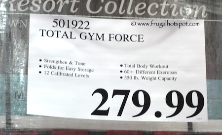 Total Gym Force Costco Price