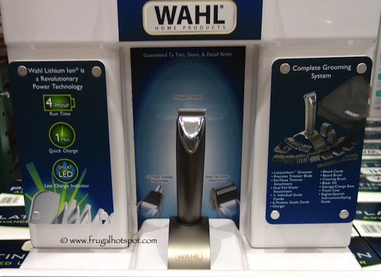 Costco Sale Wahl Platinum Edition Lithium Ion Groomer 3999