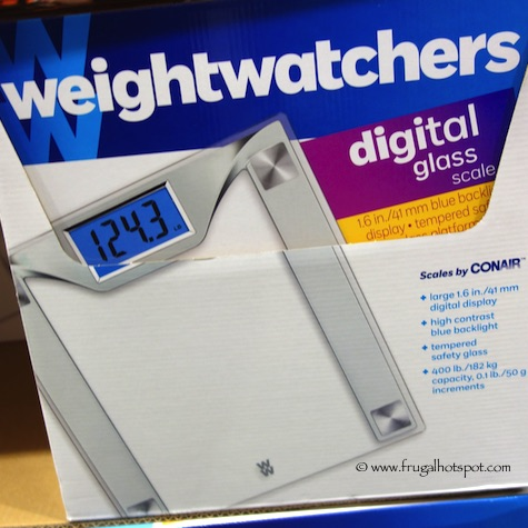 Weight Watchers Digital Glass Scale by Conair Costco