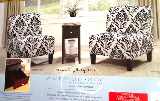 Costco Avenue Six 3 Pc Chair Accent Table Set 249 99