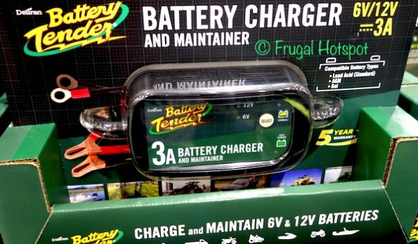 Battery Tender 3.0 Amp Battery Charger at Costco