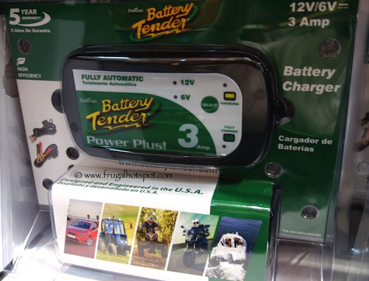 Battery Tender 3.0 Amp Battery Charger Costco