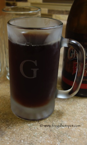 Susquehanna Monogrammed Barware Collection 16-ounce Personalized Beer Mug 4-count Costco