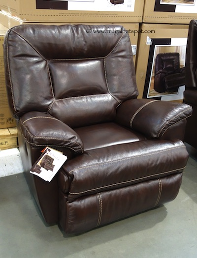 Berkline Tullran Leather Rocker Recliner Costco