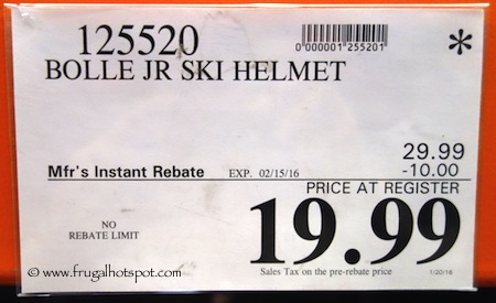 Bolle Kids Snow Ski Helmet Costco Price
