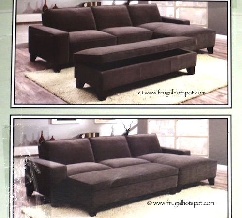 Costco Chaise Sofa with Storage Ottoman 84999 Frugal  : ChaiseSofa2 from www.frugalhotspot.com size 500 x 450 jpeg 67kB