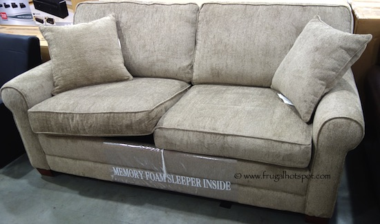 Chenille Fabric Sofa With Queen Sleeper Costco