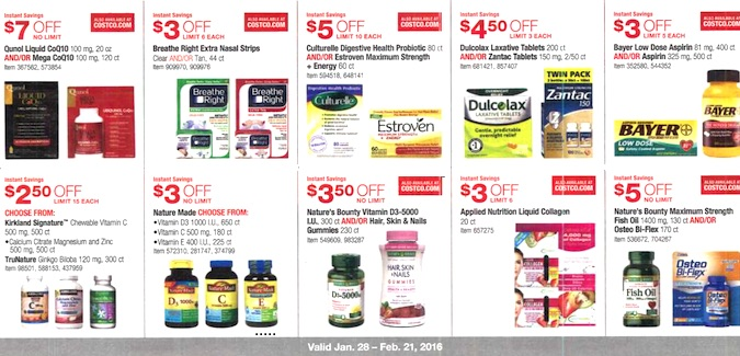 Costco Coupon Book: January 28, 2016 - February 21, 2016. Frugal Hotspot. Page 11