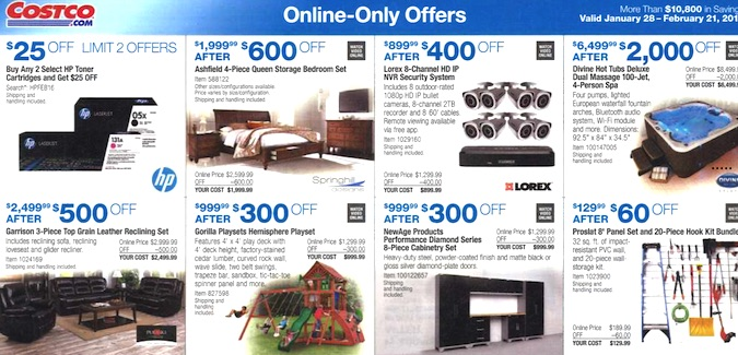 Costco Coupon Book: January 28, 2016 - February 21, 2016. Frugal Hotspot. Page 14