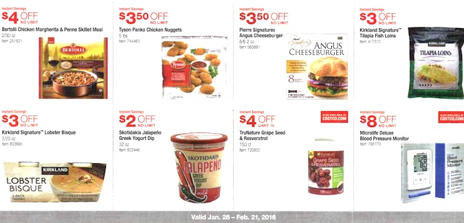 Costco Coupon Book: January 28, 2016 - February 21, 2016. Frugal Hotspot. Page 9