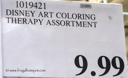 Disney Art Therapy Coloring Book Costco Price