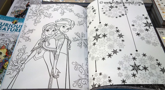 Disney Frozen Art Therapy Coloring Book Costco