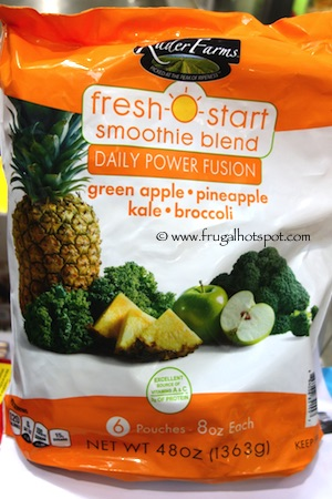 Rader Farms Fresh Start Smoothie Blends Daily Power Fusion Costco