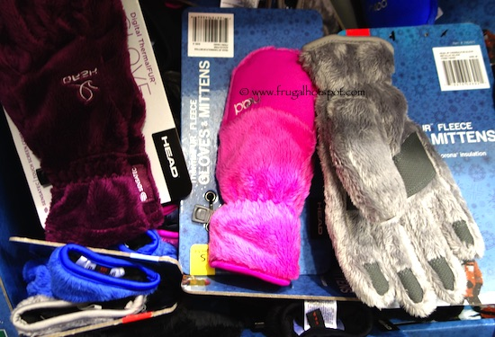Head Jr. ThermalFUR Fleece Gloves/Mittens Costco