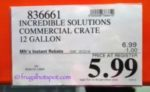 Incredible Solutions Commercial Crate 12-Gallon Costco Sale Price