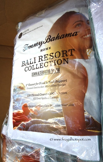 Tommy Bahama Home Bali Resort Collection Down Alternative Pillow Costco