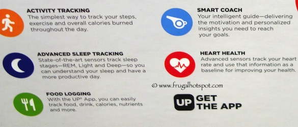 Jawbone UP3 Band + UP Move Fitness Tracker Bundle Costco