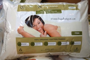 AllereaseOrgPillowsAllerease Naturals Organic Cotton Cover Jumbo Pillow 2-Pack Costco