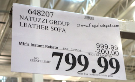 Natuzzi Group Leather Sofa Costco Price