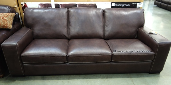 Costco Sale: Natuzzi Group Leather Sofa $799.99 | Frugal Hotspot
