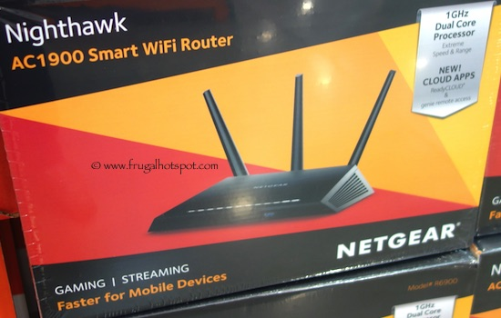 Netgear Nighthawk AC1900 Smart WiFi Router Costco