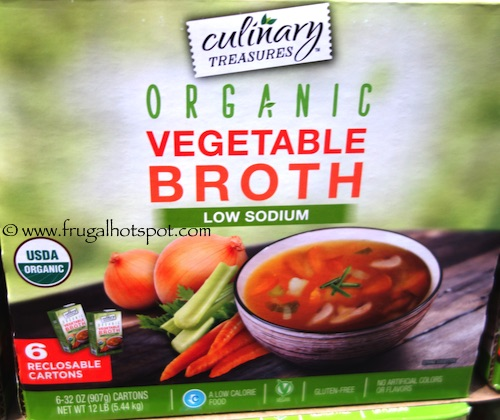 Culinary Treasures Organic Vegetable Broth Costco | Frugal Hotspot