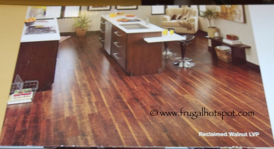 Reclaimed Walnut Luxury Vinyl Plank Floor Tile Costco Frugal Hotspot