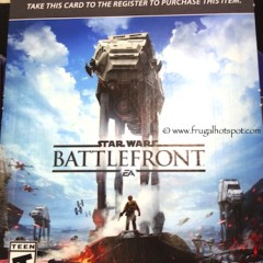 Costco Sale: Star Wars Battlefront PS4 Video Game $34.99