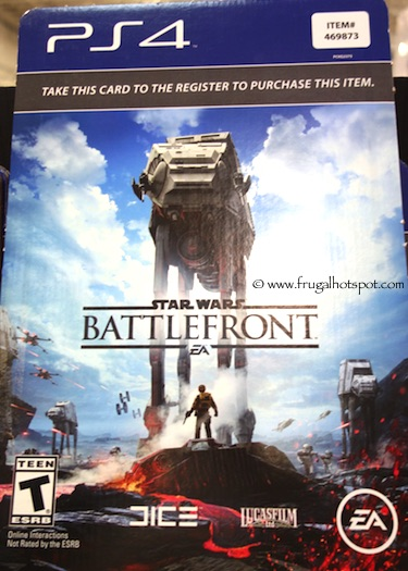 Star Wars Battlefront PS4 Video Game Costco