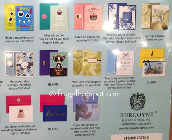 Costco Clearance Burgoyne Handmade All Occasion Cards 25 Ct 1497