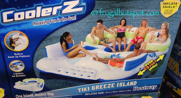 Bestway CoolerZ Tiki Breeze Floating Island Costco | Frugal Hotspot
